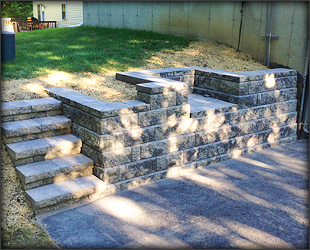 Petersen Landscaping and Design - Retainingwalls Gallery